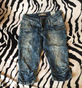 Капри джинсовые женские