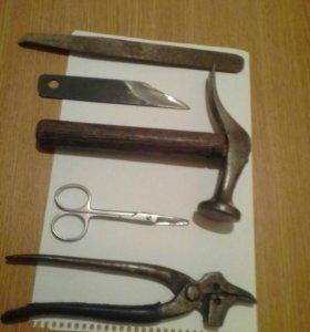 Сапожные инструменты
