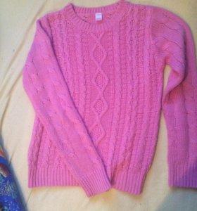 Вязаный свитер (кофта)