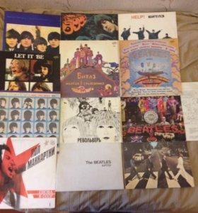 Виниловые пластинки Beatles - 11 LP +