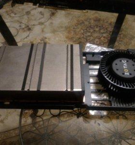 Родное охлаждение корпус  с радиатор Zotac GTX 580