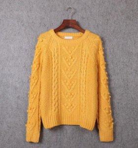 Кофта тёплая (свитер) новая