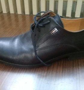 Мужские туфли, обували 1раз