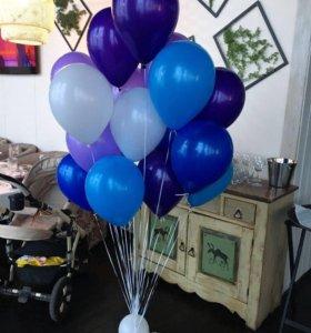 Шарики воздушные с гелием