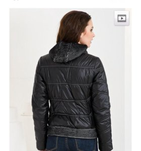 Стеганая куртка, синтепон. E'xclusive