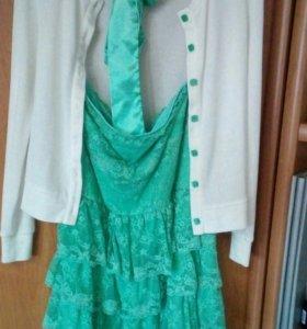 Платье + кофта