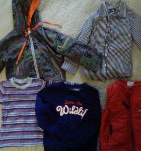 Детские вещи на мальчика 3-4 года