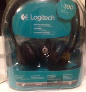 Наушники Logitech H390