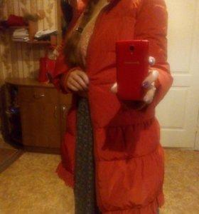 Куртка пуховик осень - зима