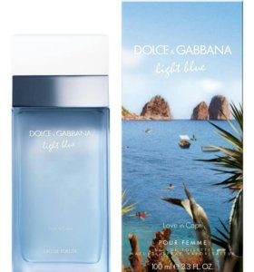 Dolce & Gabbana Light Blue Love In Capri 100 ml.