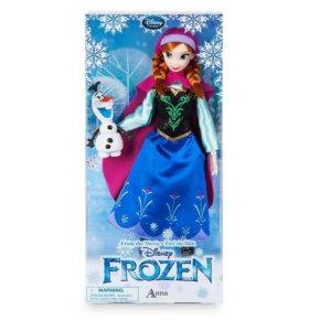 Куклы Эльза и Анна из мультика Холодное сердце