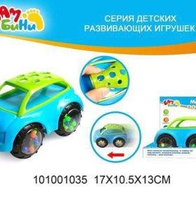 Машинка-погремушка