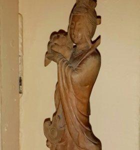 Статуэтка из сандалового дерева. Бирма