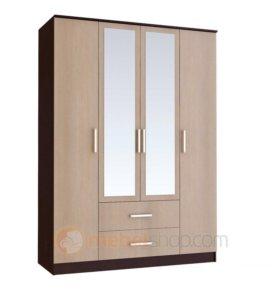 Шкаф 4х дверный Фиеста
