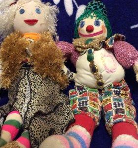 Изготовлю игрушки мягкие , куклы на заказ, панно.