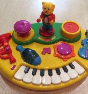Детские музыкальные развивающие игрушки