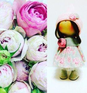 Интерьерная Кукла 28 см рост