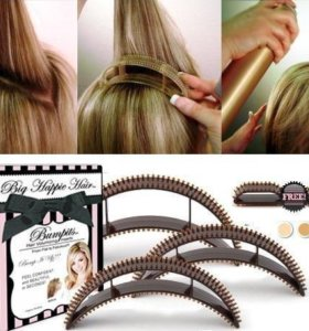 Заколки для придания волосам объема. Новые.