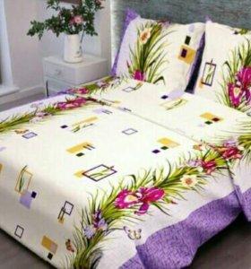 Комплект постельного белья 1.5 спальный бязь