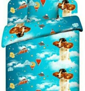 Комплект постельного белья 1.5 спальный для детей
