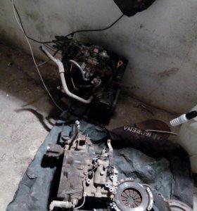 Двигатель 2е(на запчасти)