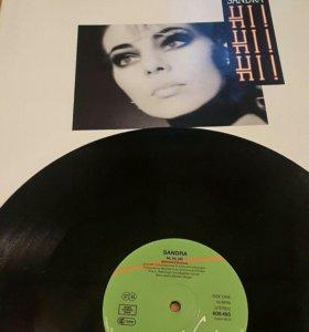 Сандра Maxi-single виниловая пластинка. Германия