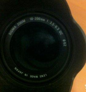 Продам Canon 400D + объектив Sigma в отличном сост