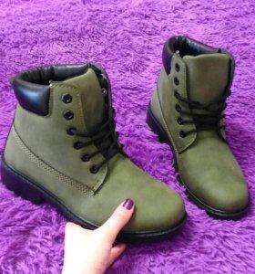 Ботинки (новые, тимбы)