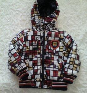 Курточка на мальчика 4-5 лет