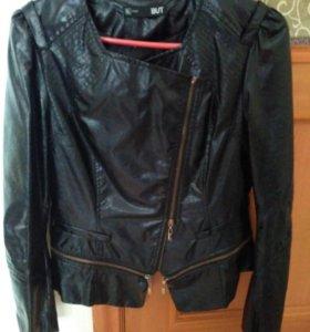 Куртка кожаная, новая