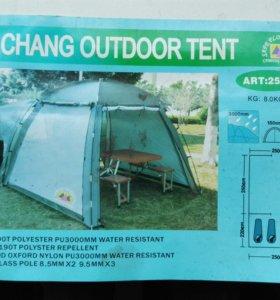 Палатка с кухней