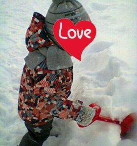 Зимний костюм crokid
