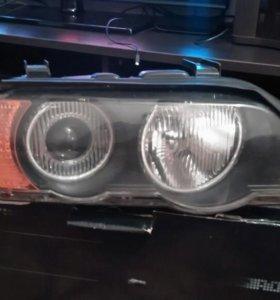 Передние фары BMW X5 E53