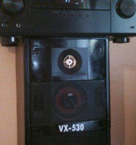 Усилитель Pioneer vsx-323 и две колонки вега