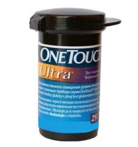 Тест-полоски ONE Touch Ultra