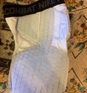 Компрессионные шорты с защитой