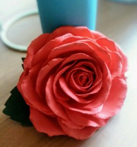 Брошь_Роза