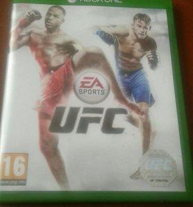 Диск UFC на Xbox One