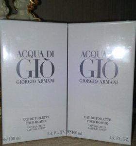 Giorgio Armani - Aqua di Gio 100 мл  мужские