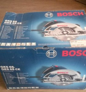 Пила дисковая Bosch GKS 65