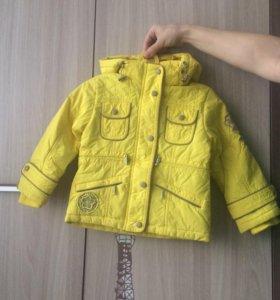 Курточка на 1,5-2 года