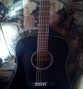 Продам новую гитару Fender cd-60 dreadnought black