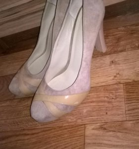 туфли натуральная замша 40 рр