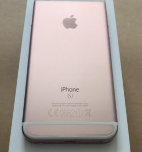 iPhone 6s, Rose Gold, 16GB