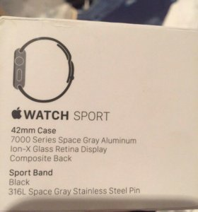 Apple Watch Sport 1 series 42 mm