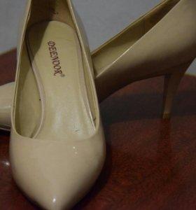 туфли Deenoor-бежевые,