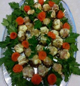 Праздничные блюда  на дом.