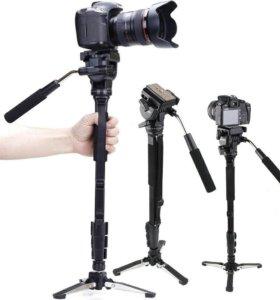 Монопод для видео-съёмки Yunteng VCT-288