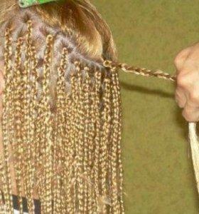 Плетение косичек 10р штука