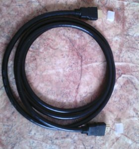 Кабель HDMI-HDMI версия 1.4v +звук 1,8 - 2,7м